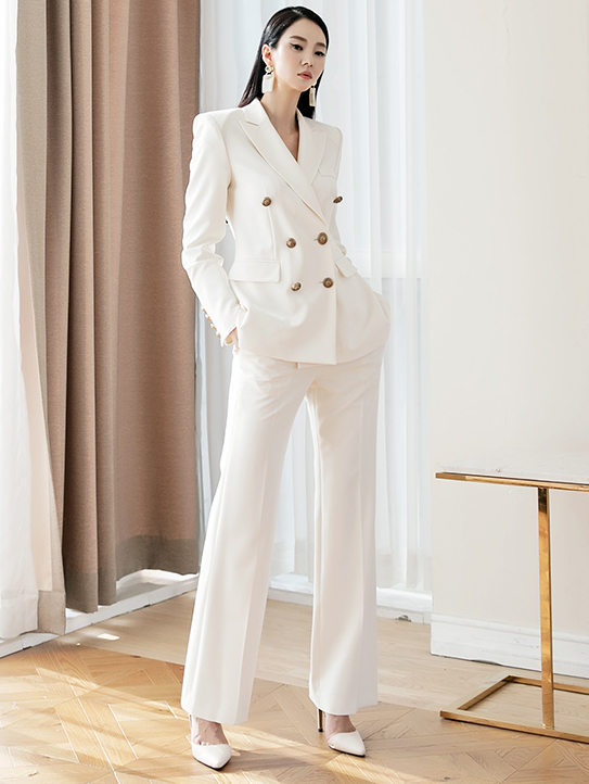 TP1066 Double Gold-Button two-piece