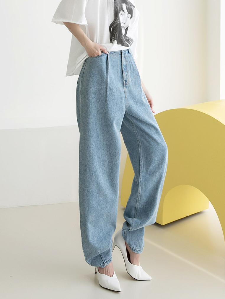 PJ397 Over baggy Denim pants *L size production*