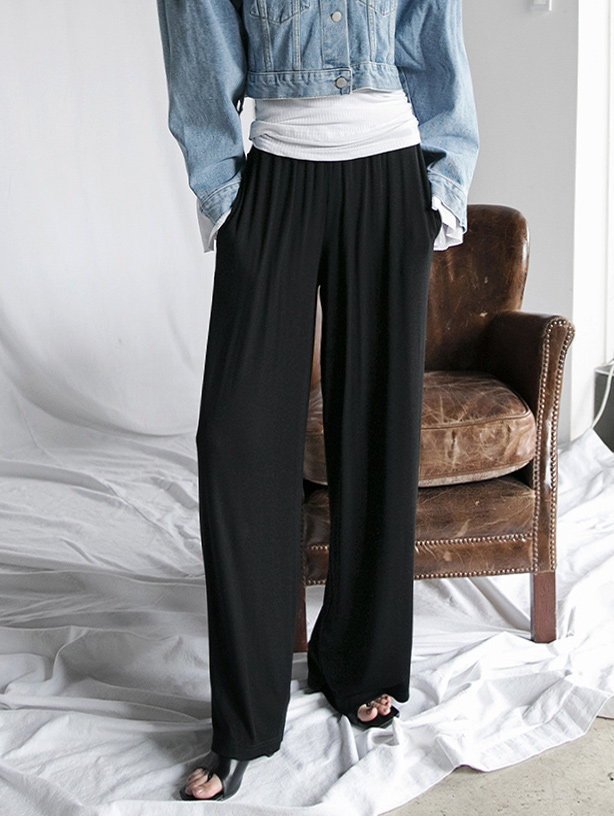 P2228 세튼 corduroy banding wide pants(9th REORDER)