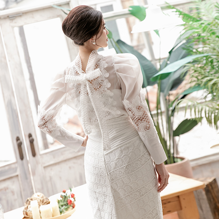 B2553 로이나 Lace blouse(22nd REORDER)