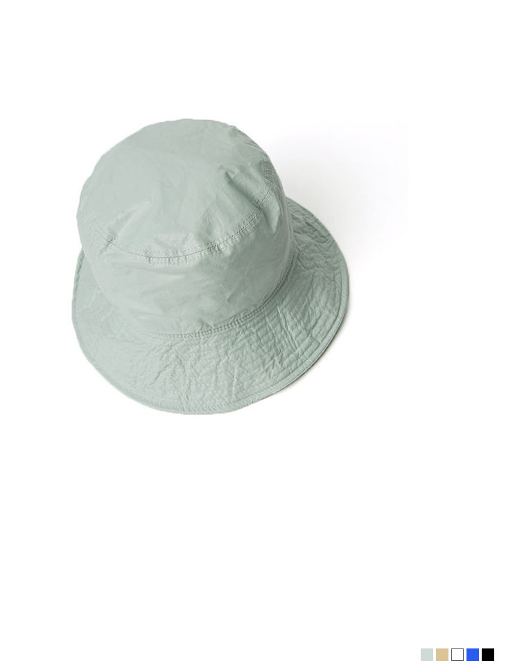 AC-605 crease bucket hat