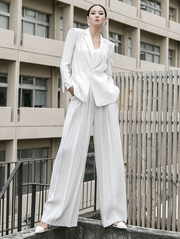 TP1011 eyelet Suit *S/S fabric*