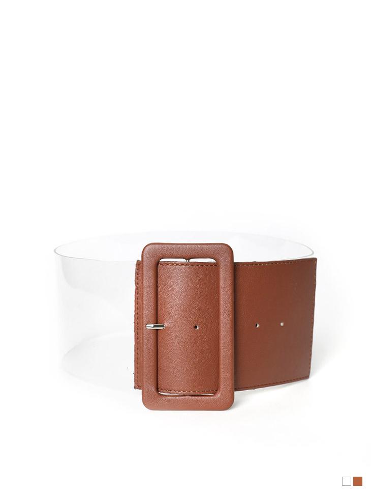 AT-338 Big buckle acrylic Belt