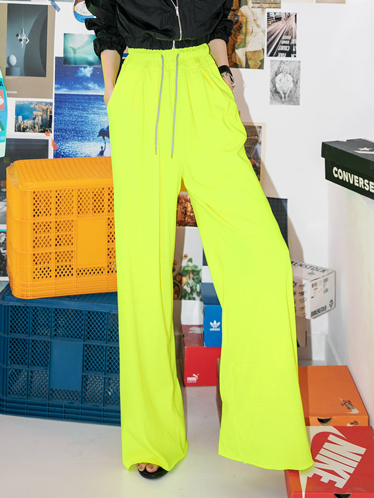 P2260 끄레송 wide banding pants(20th REORDER)