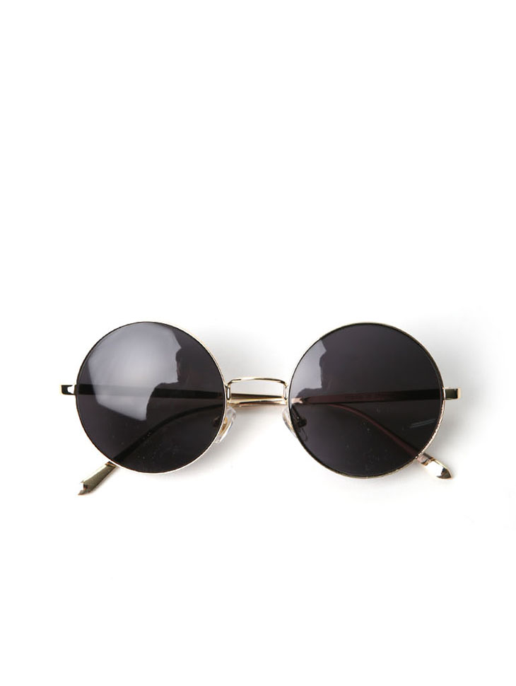 EC-173 circle Gold sunglasses