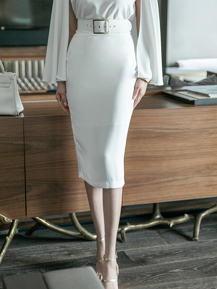 SK2070 Big Belt Point skirt(Belt set)