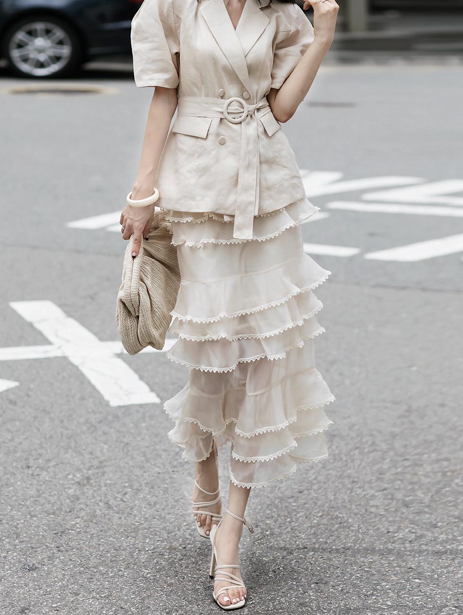 SK2072 cancan Xia skirt