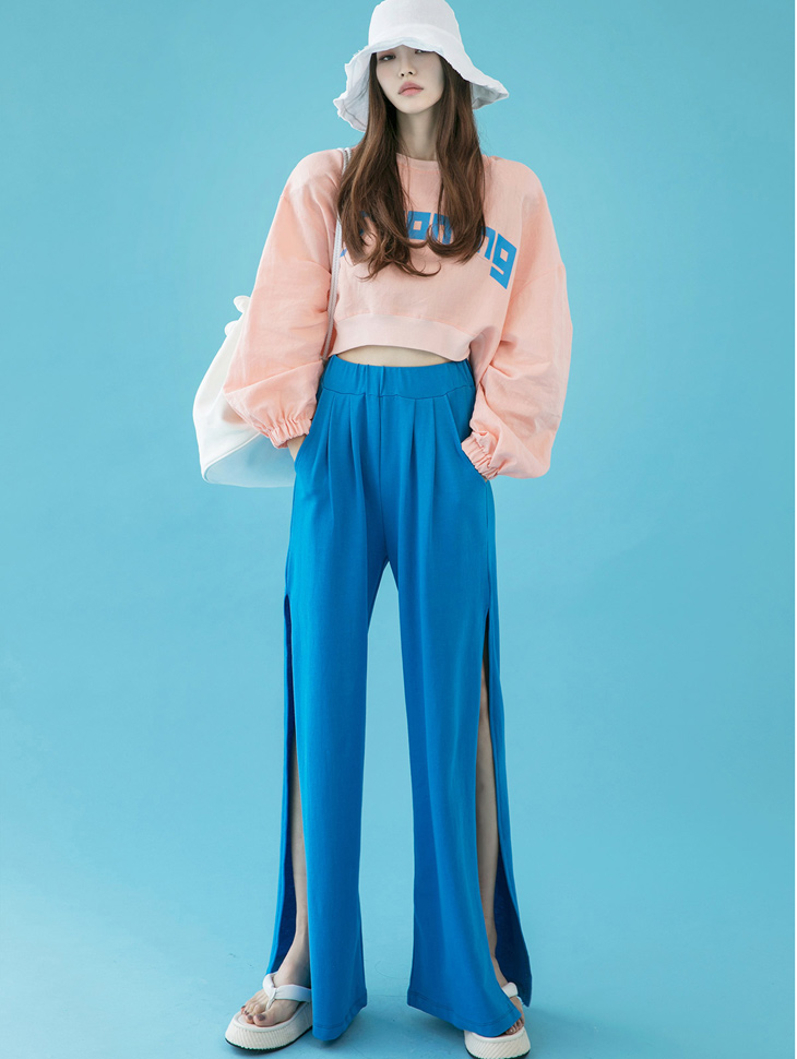P2274 Slit Point wide pants(3rd REORDER)