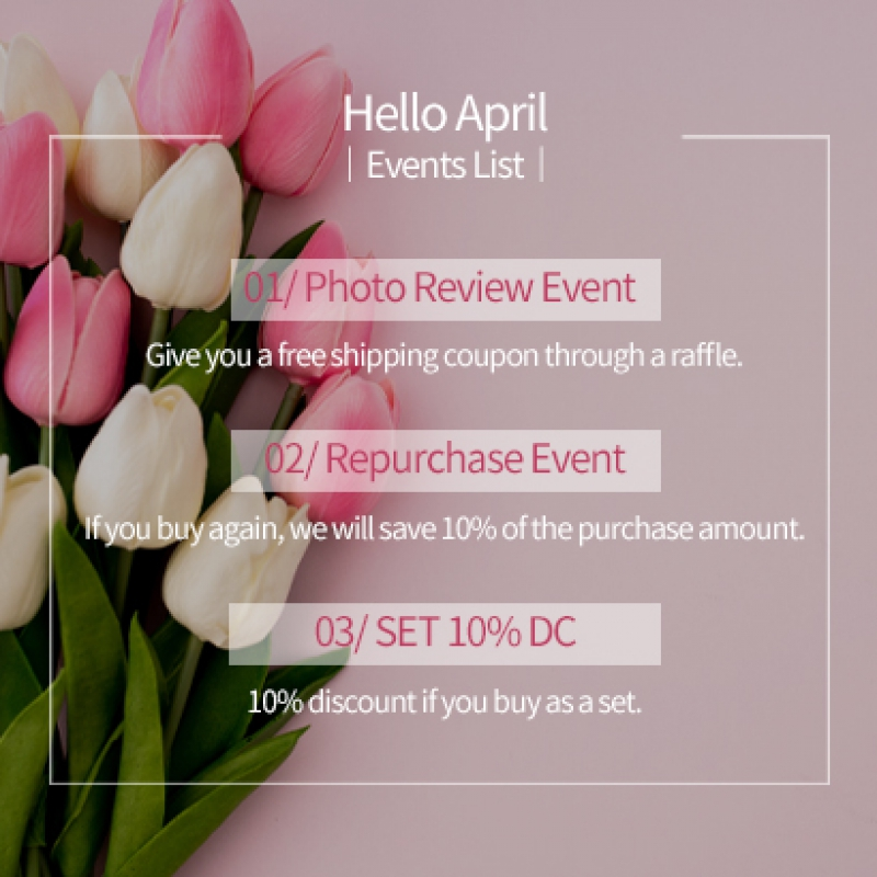 [ON GOING] APRIL EVENT