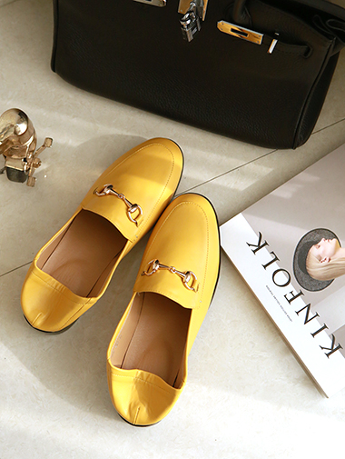 AR-1808 Gold ring Modern Loafers *SILVER 230,235* *PINK 250*
