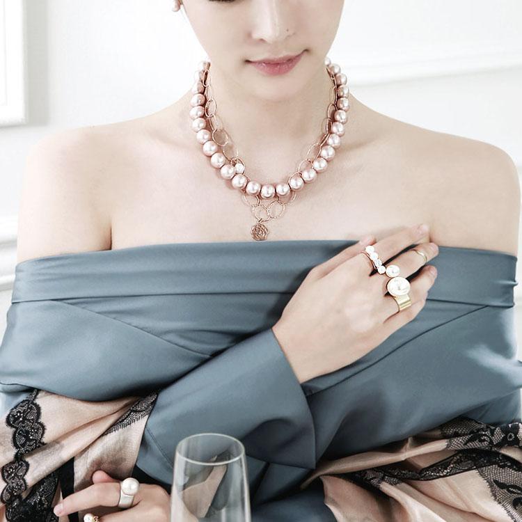 Korean AJ-3732 Necklace