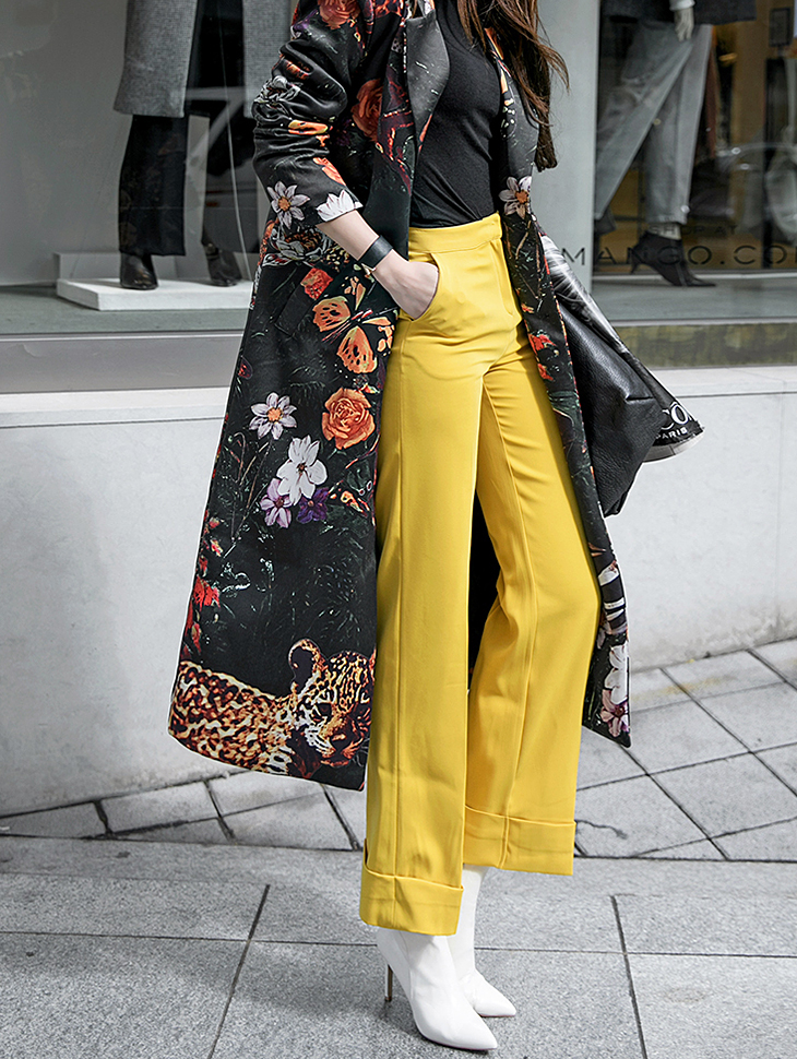 P1939 Sunny Straight Rollup Pants