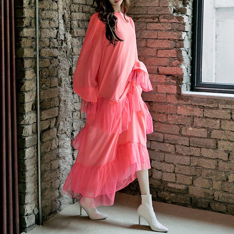 Korean D-9006 Highlight Frill Dress (20th REORDER)