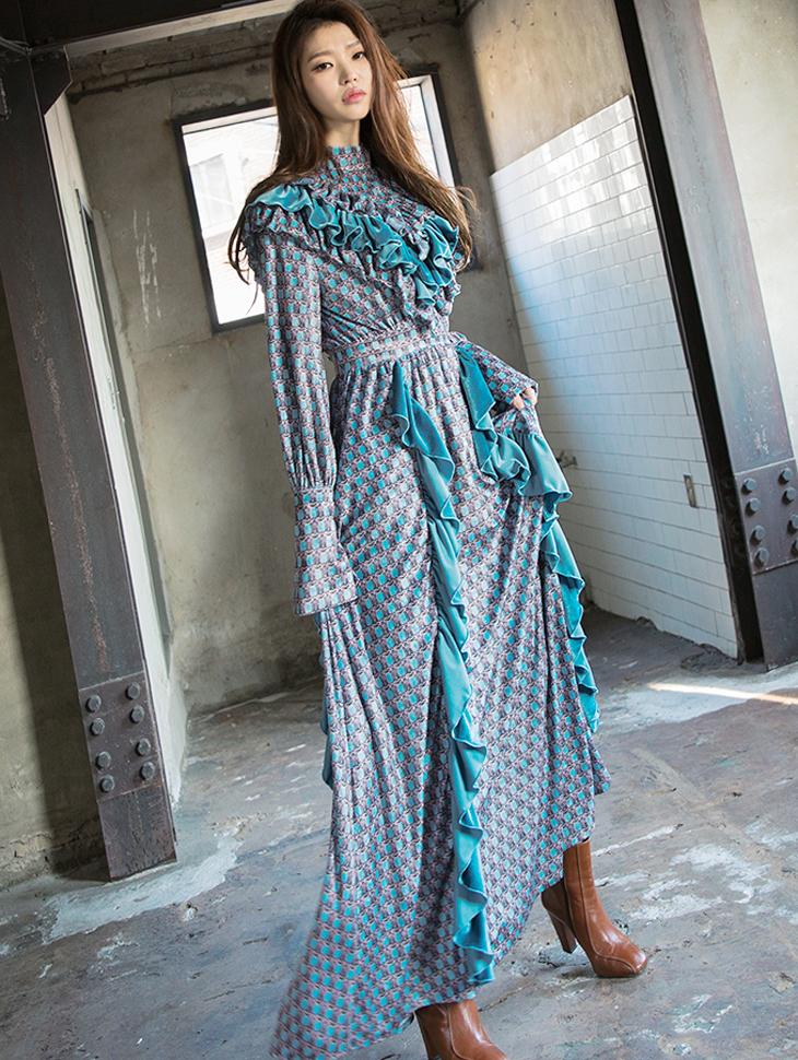 D9059 plumble velvet Dress (8th REORDER)