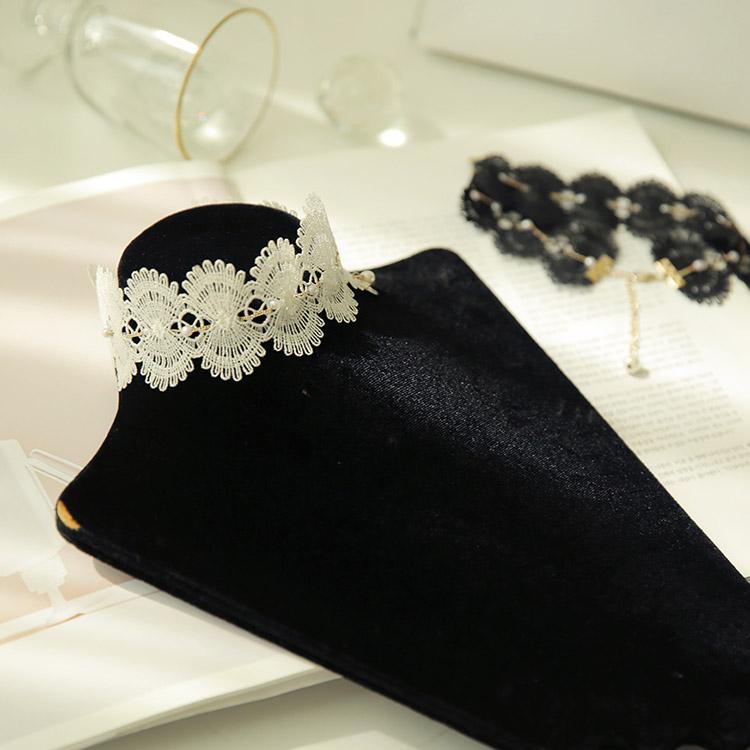 Korean AJ-4364 Necklace * HANDMADE *