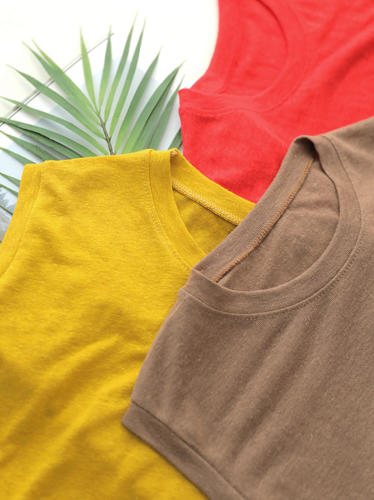 E1986 Color Pop Linen Sleeveless Top (55th REORDER)
