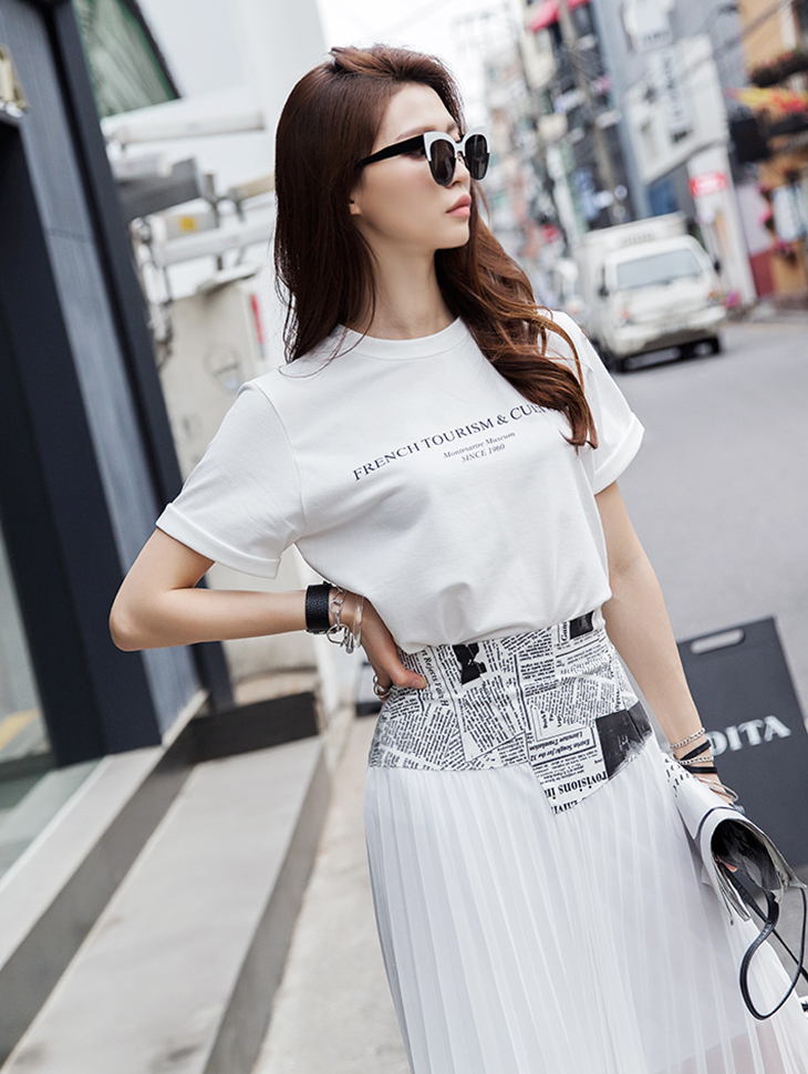 E1988 루지 Lettering clear Top(90th REORDER)