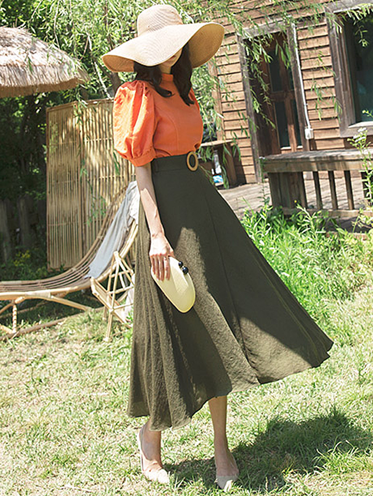 SK1905 pull skirt(Belt set)(14th REORDER)