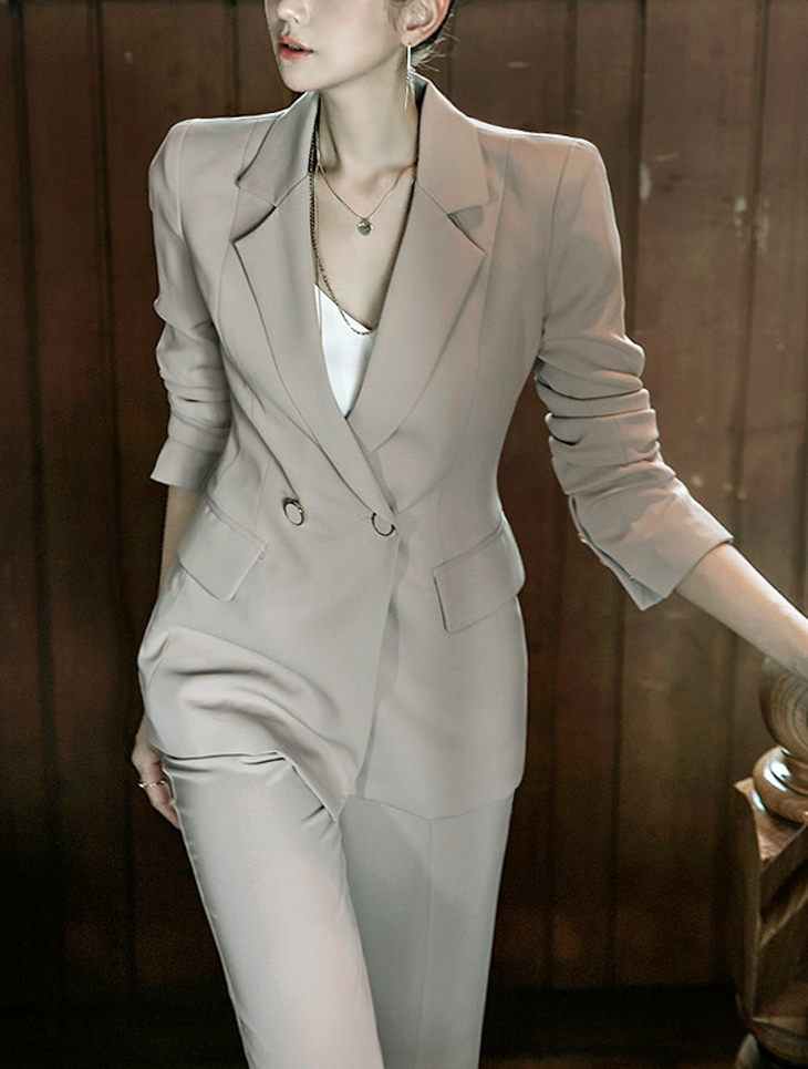 J471 로카 classic Button Jacket (50th REORDER)