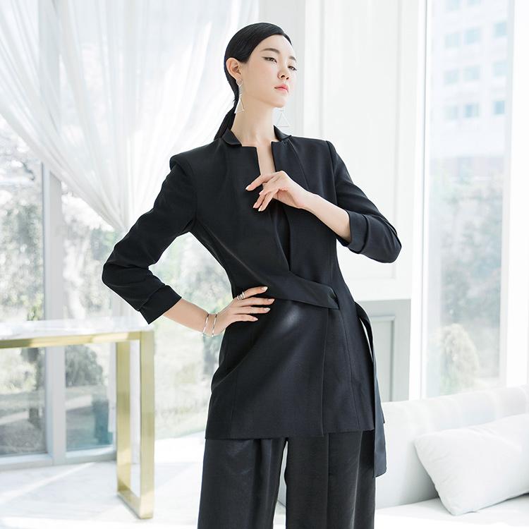 Korean J712 Xeon unique Collar Slim Jacket * L size production *