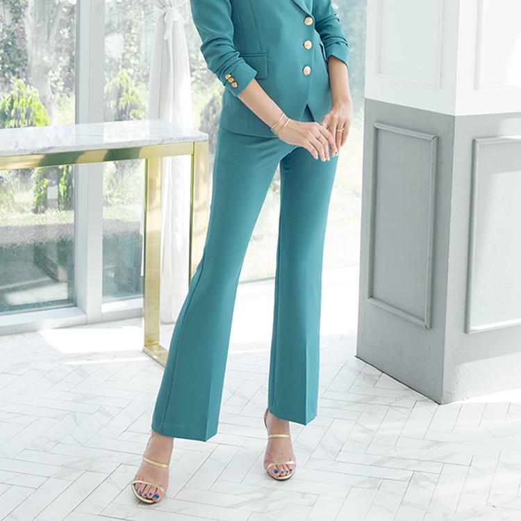 Korean P2134  Slim Line Slacks pants(15th REORDER)