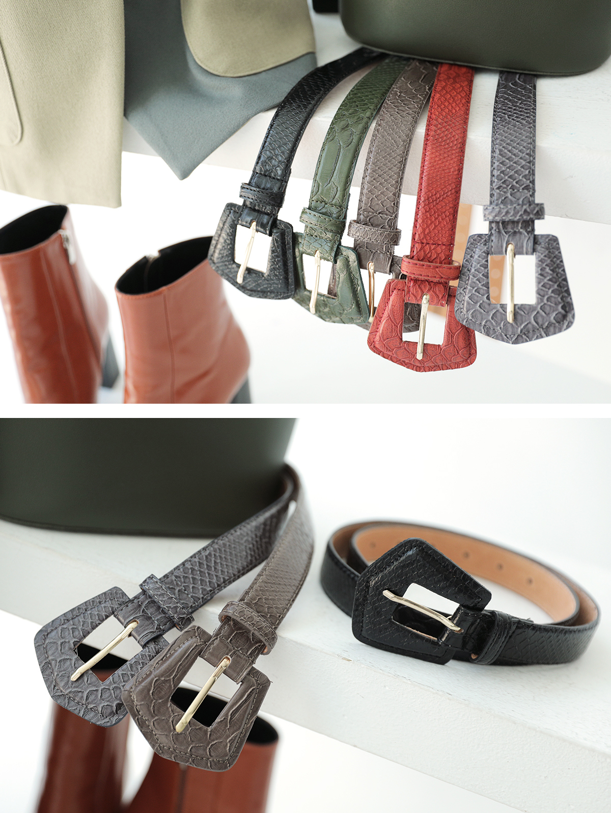AT-325 Hold  Buckle Belt