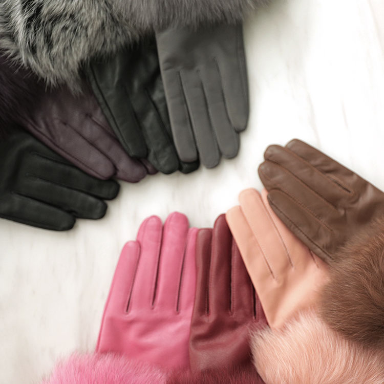 Korean AH-141 Foxstring Leather Gloves