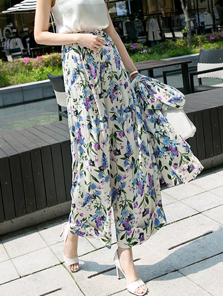 P1861 cents Flower patterned Pants