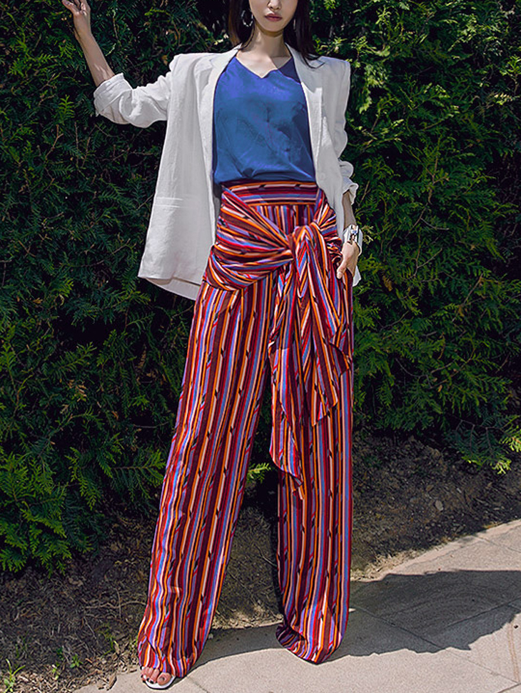 P9007 Edison Wide Knot Pants (8Round Reorder)