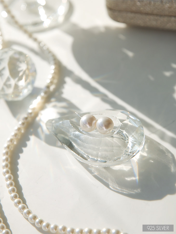 AJ-4297 earring (Silver)