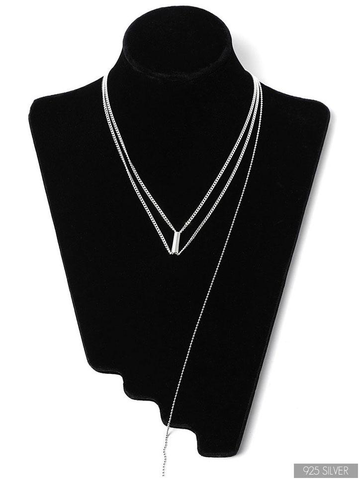 AJ-4667 Necklace (Silver 925)