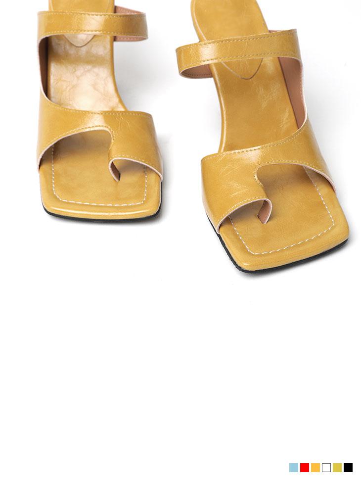 AR-2479 미로이 square High heels