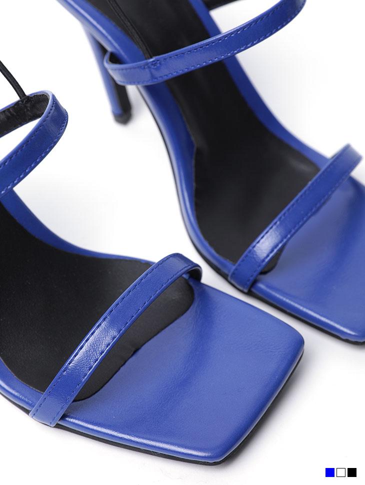 AR-2486 Strap square High heels