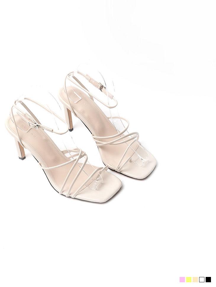 AR-2491 루엔 feminine Strap Buckle heels