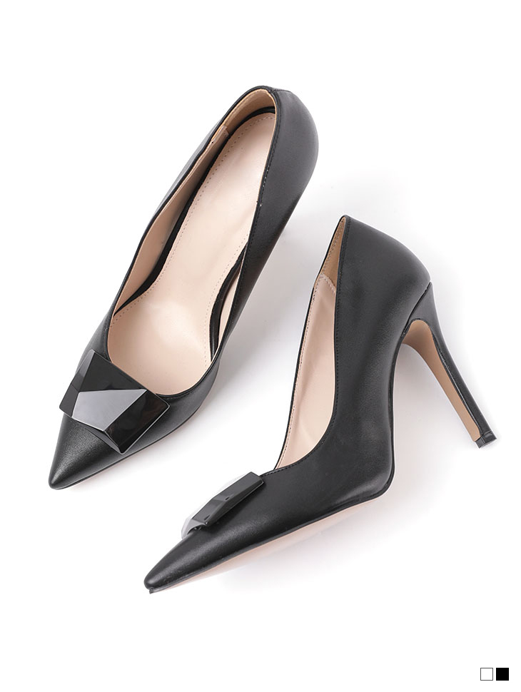 AR-2437 fourton stone front high heels