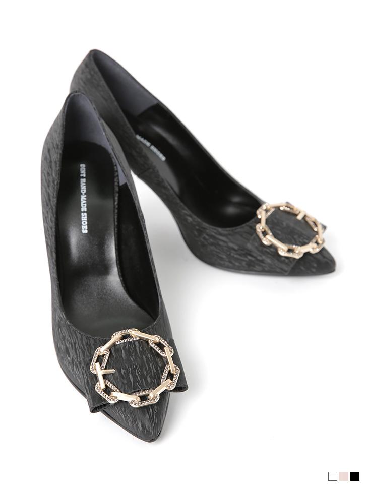 HAR-659 Chain Point High heels*HAND MADE*