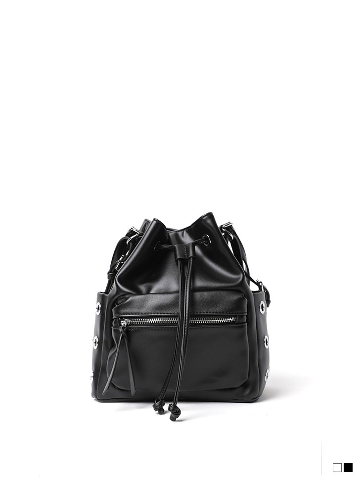 A-1119 two way eyelet Point Shoulder bag