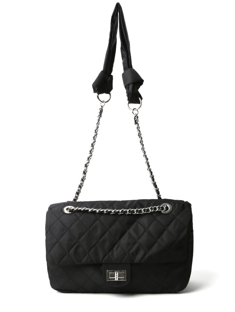 A-1162 Quilting Point Chain Bag