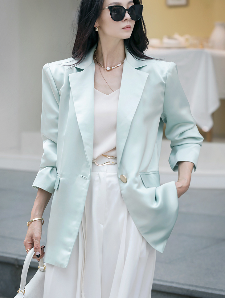 J9017 바네사 silky over fit Jacket(18th REORDER)