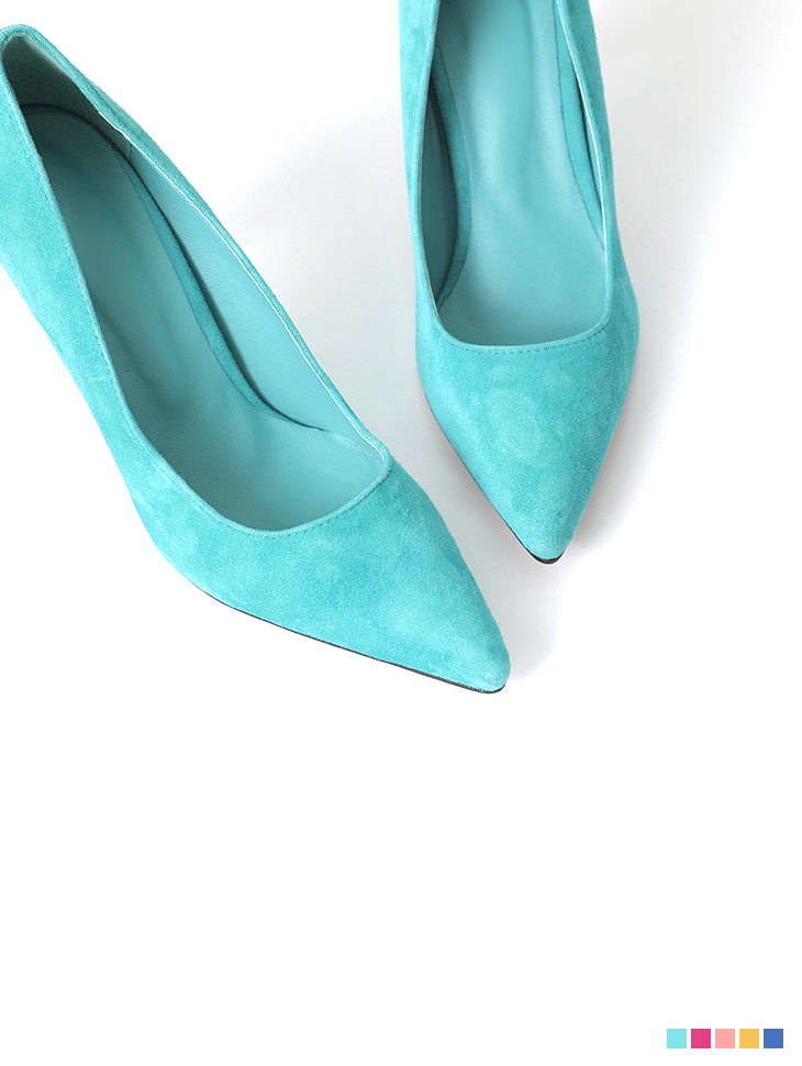 AR-2417 Charmant Color Suede High heels