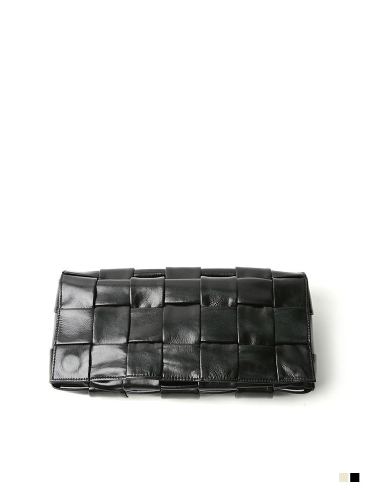 A-1171 square real Leather Belt  bag