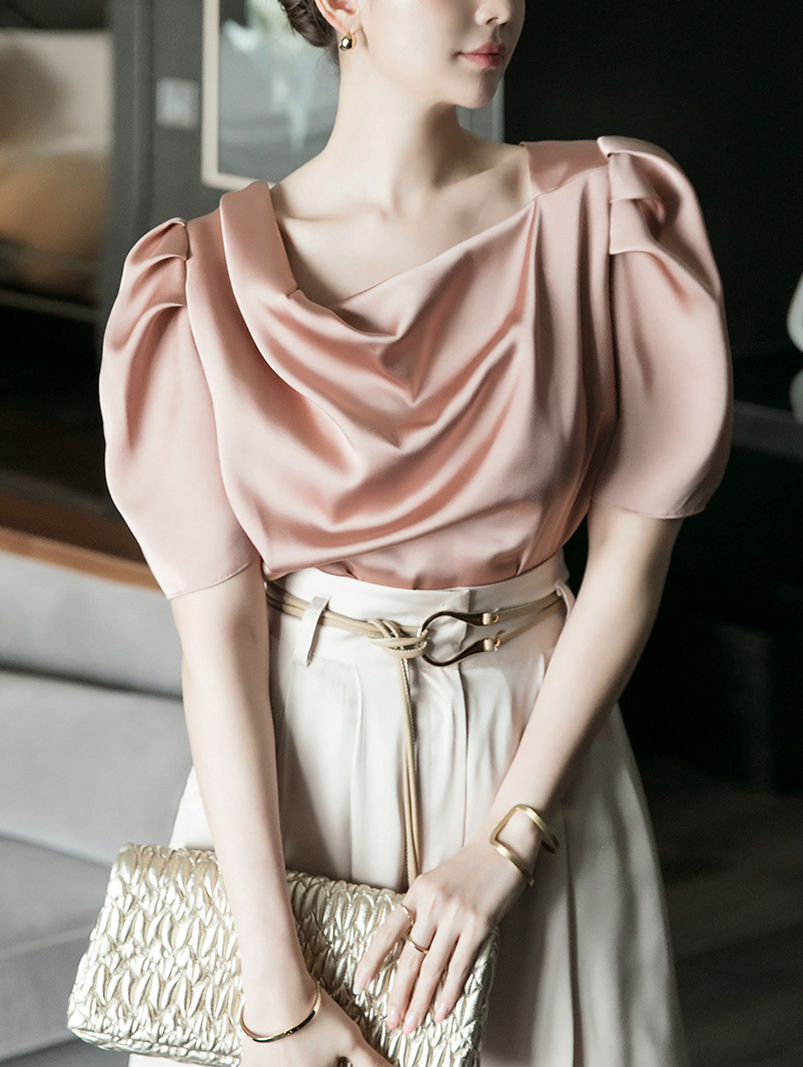 B2597 블란도 Puff Point blouse(3rd REORDER)