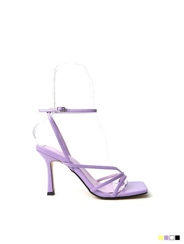 AR-2526 Strap sandals heels