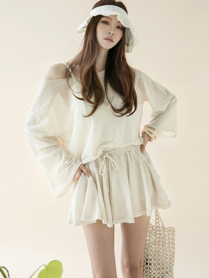 D4070 프리모 ruffle Point two-piece(30th REORDER)