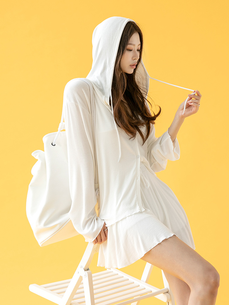 D4066 블란느 Hood Point two-piece(15th REORDER)