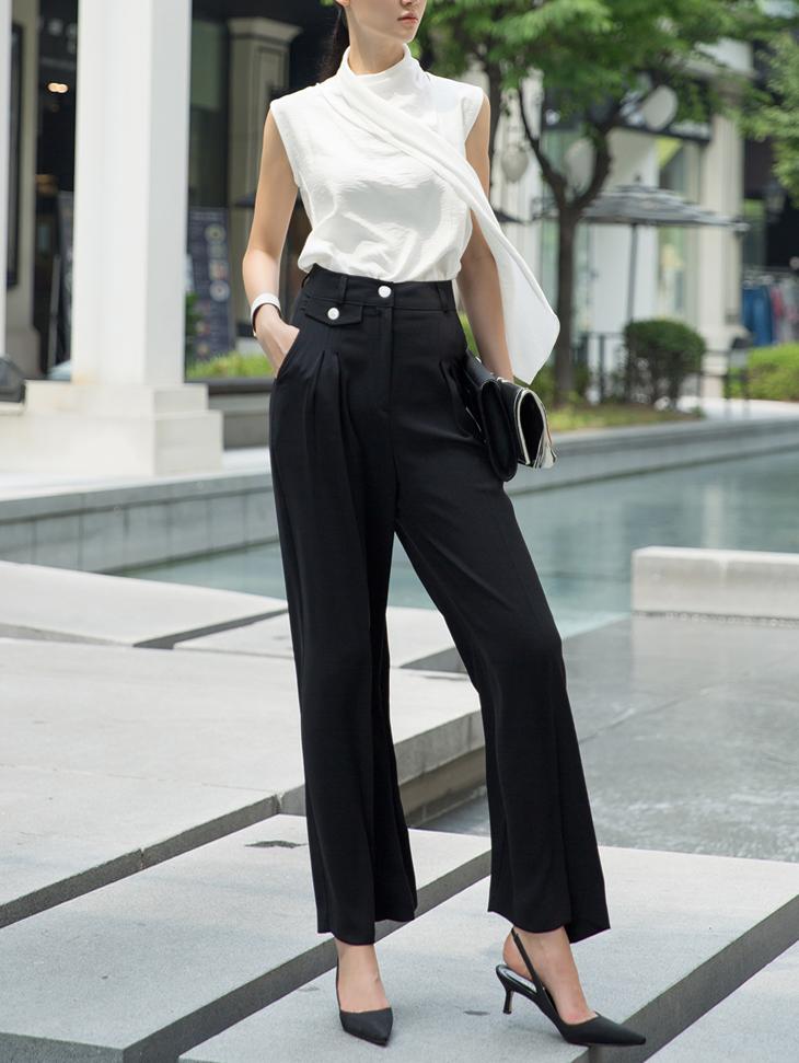 P2110 more  pocket wide pants