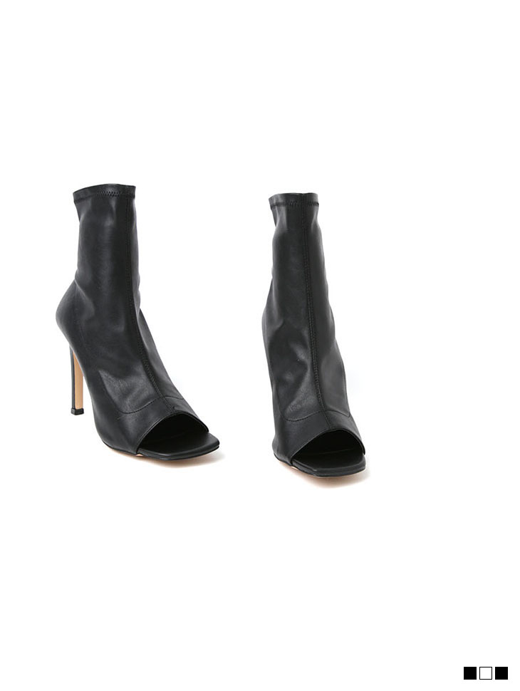 AR-2533 square Open Toes ankle heels