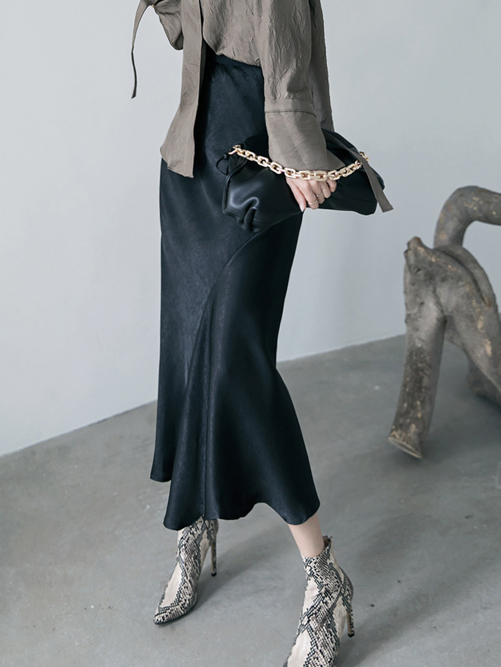 SK2088 크레딘 banding Satin skirt(17th REORDER)