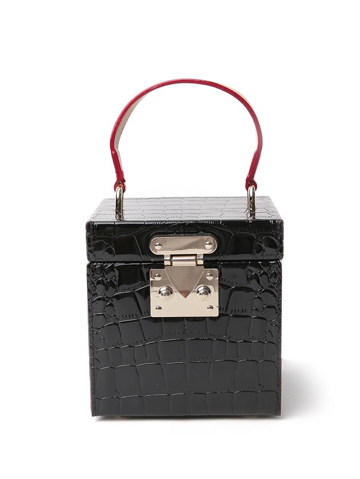 A-1205 square mirror Mini bag