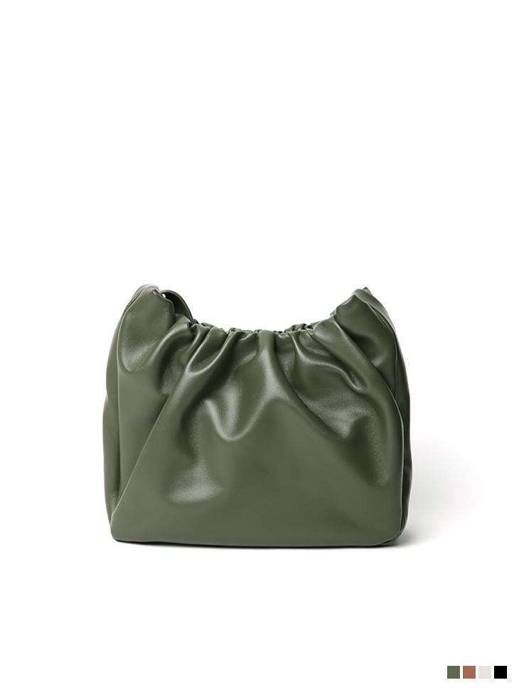 A-1200 Leather Round Shoulder bag